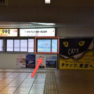 フレッシュゾーン・ボイス アクセス 南林間駅改札から東口へ