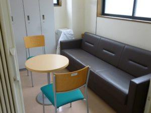 フレッシュゾーン・ボイス 相談室・休憩室です