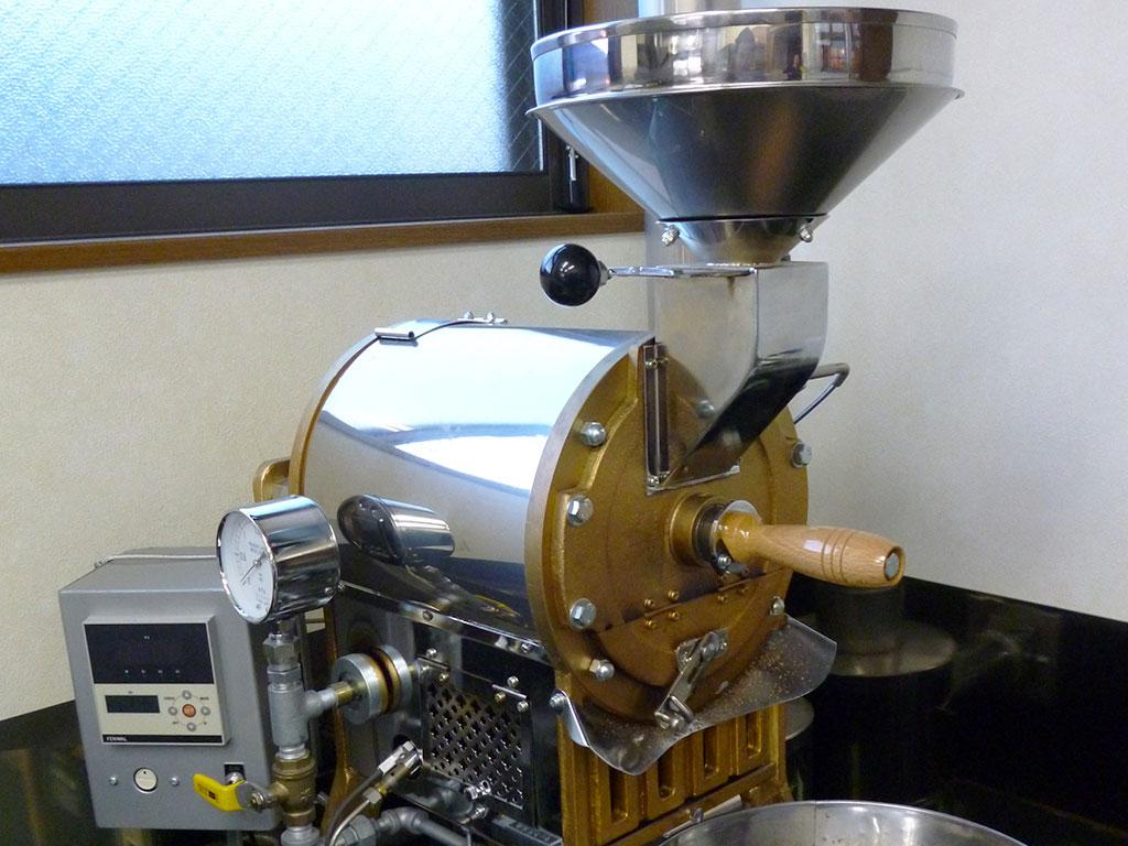 フレッシュゾーン・ボイス 焙煎機 イメージです